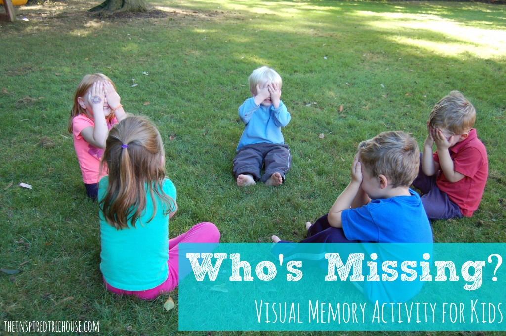 Who's missing visual memory activity for kids
