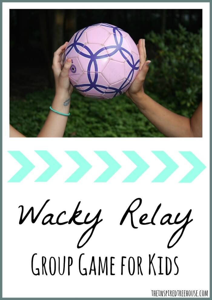 group games for kids wacky relay