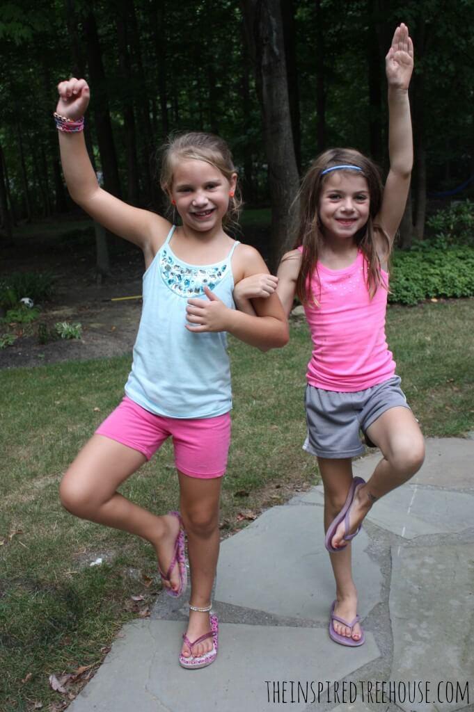 Partner Yoga For Kids
