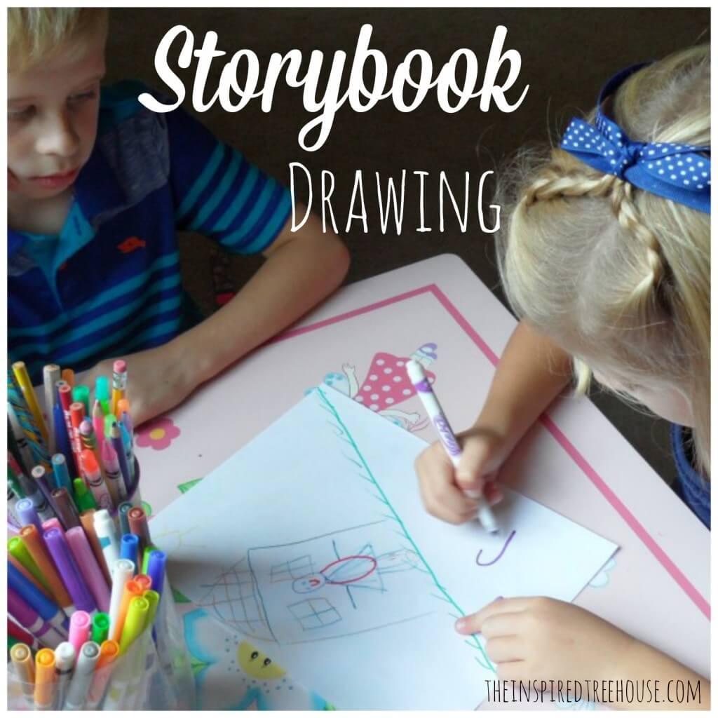 storybook drawing
