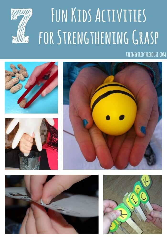 7 fun kids activities for strengthening grasp