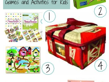 FUN ON THE FARM: GAMES AND ACTIVITIES FOR KIDS