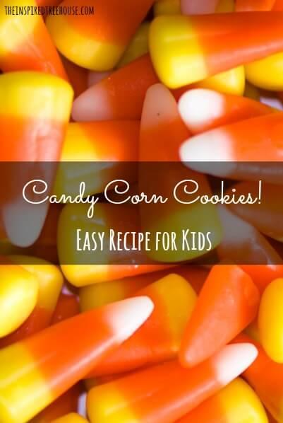 halloween activities candy corn cookies