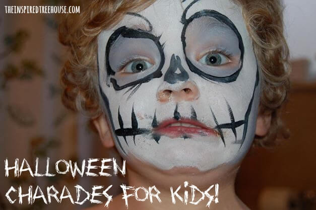halloween activities charades for kids