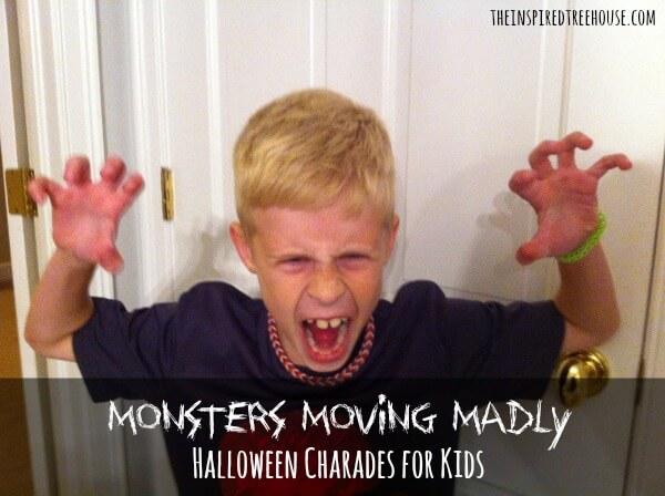 monsters moving madly halloween activities