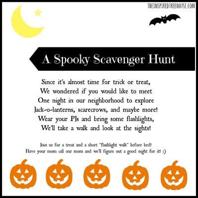 spooky scavenger hunt resized