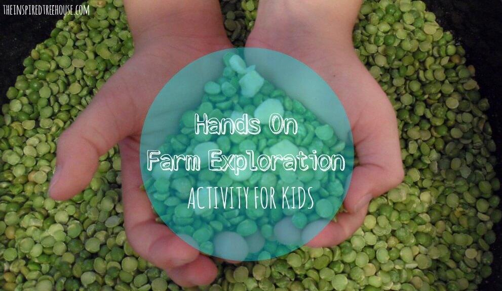 sensory activities farm exploration