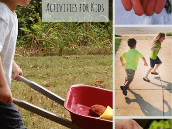INDEX OF ACTIVITIES FOR KIDS