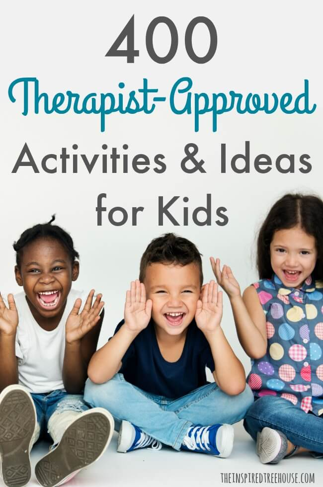 The Inspired Treehouse - Hundreds of therapist-approved activities for kids - perfect to use in the classroom, the therapy room or at home!