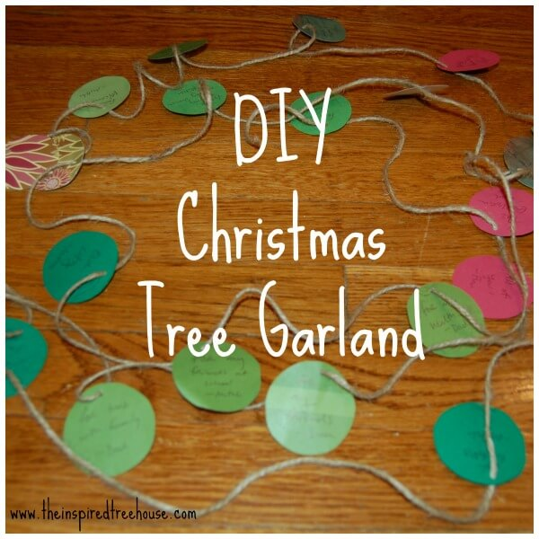 easy crafts for kids garland