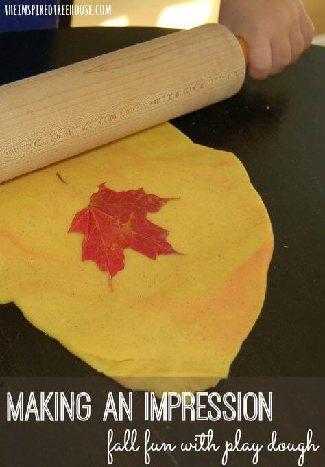 fall activities for kids play dough title 1