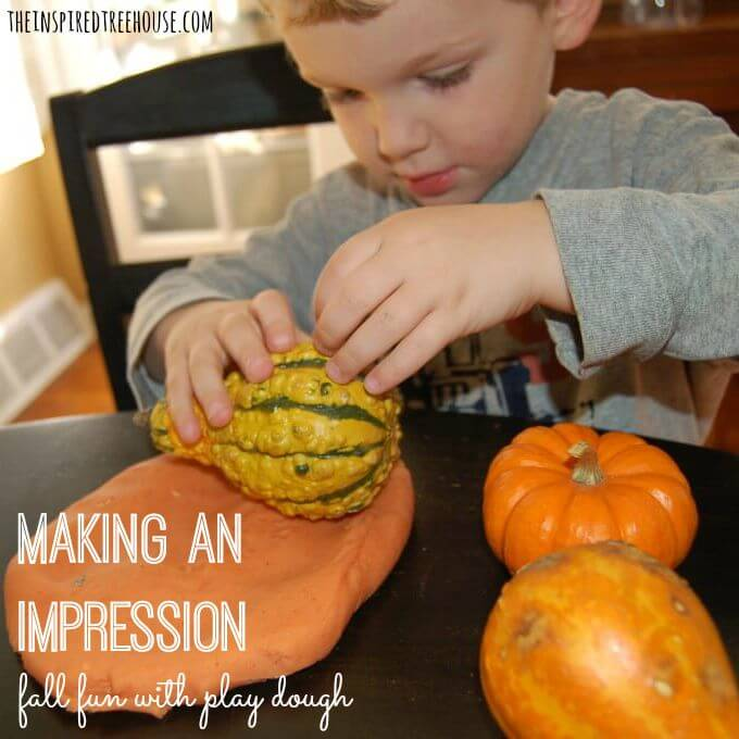 fall activities for kids play dough title 2