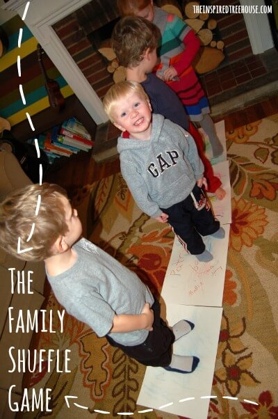 family activities for kids family shuffle