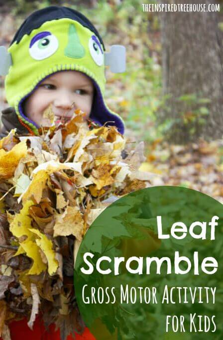 leaf scramble outdoor activities