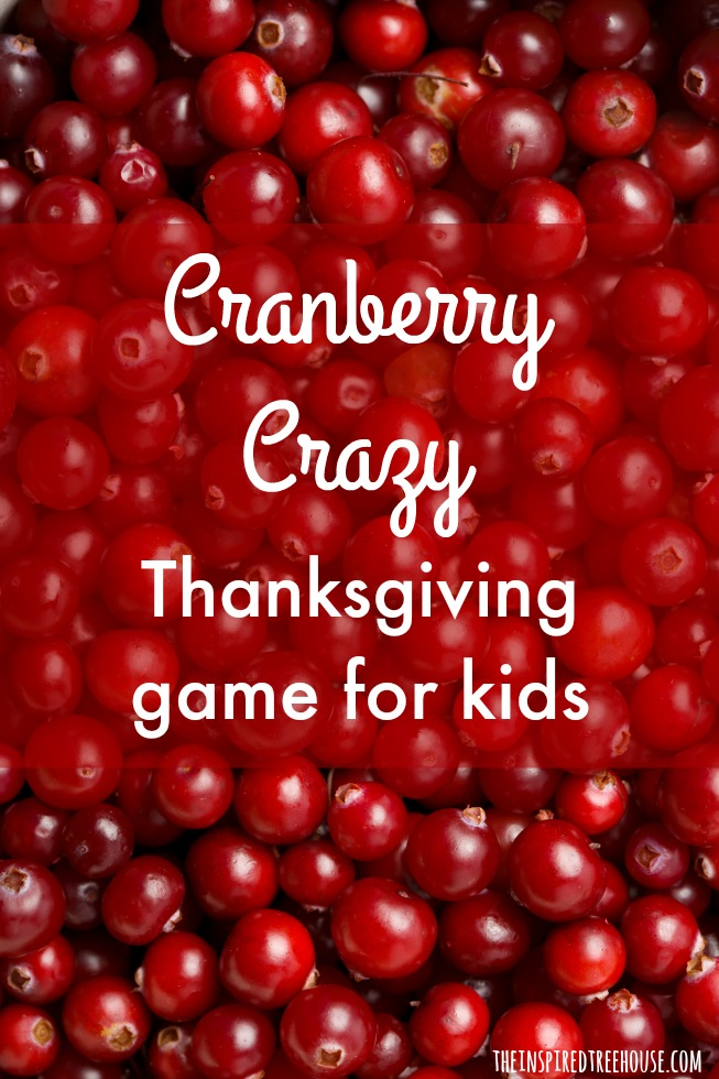The Inspired Treehouse - Looking for a fun Thanksgiving game for your little ones?  Put those cranberries to good use with this fun movement activity!