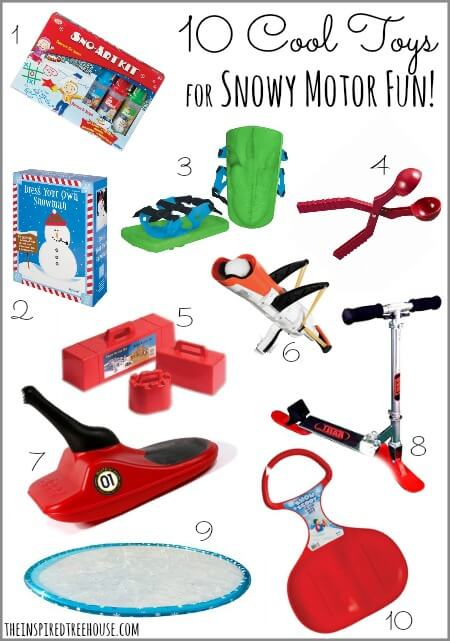 10 cool toys for snowy motor fun title
