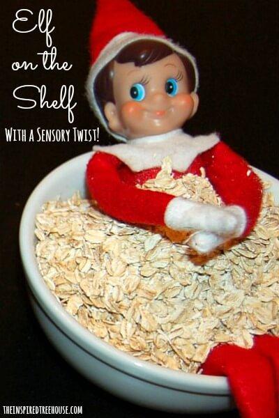elf on the shelf ideas sensory title