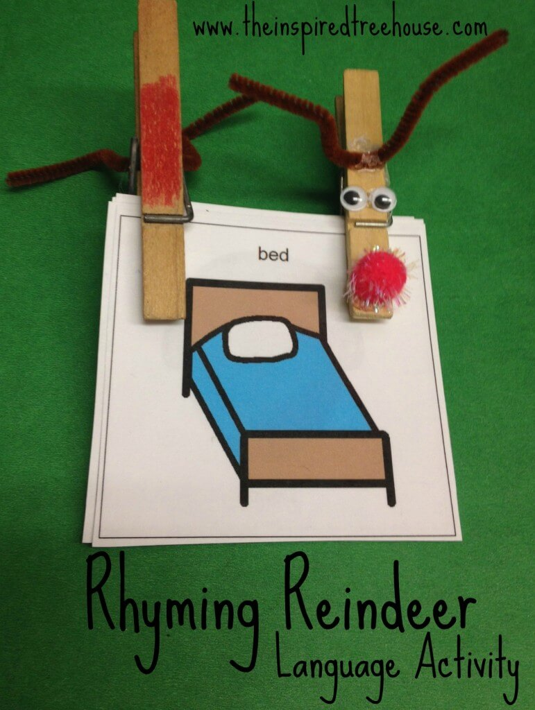 rhyming reindeer