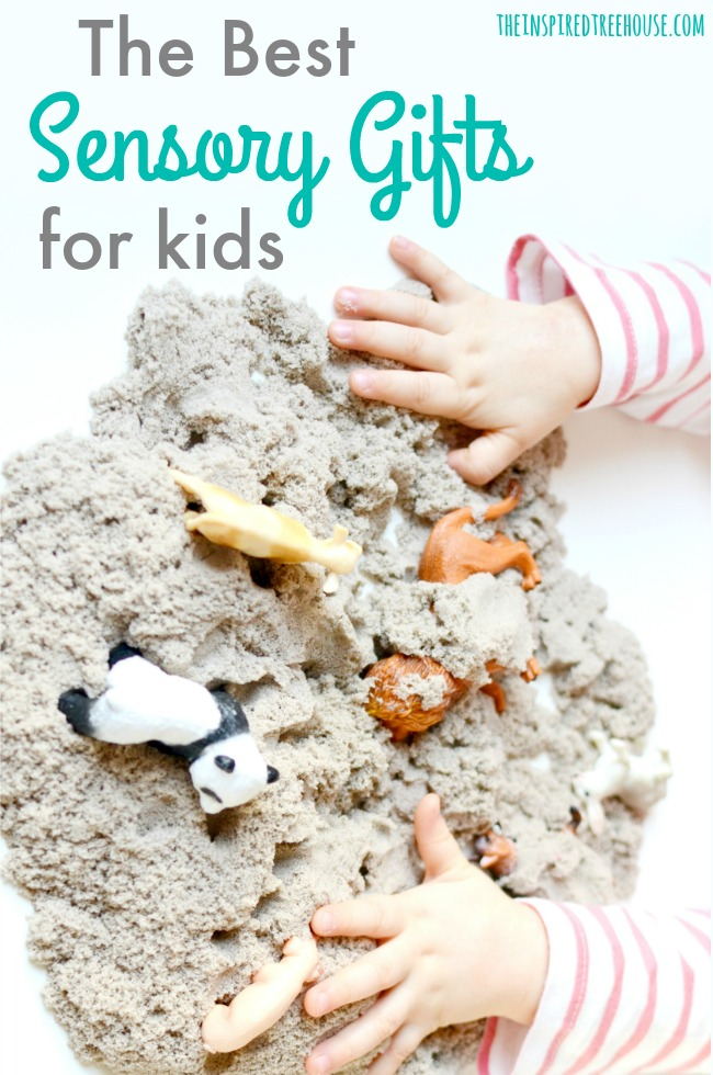 The Inspired Treehouse - These sensory gifts for kids are sure to give you some great ideas for the kids on your list!