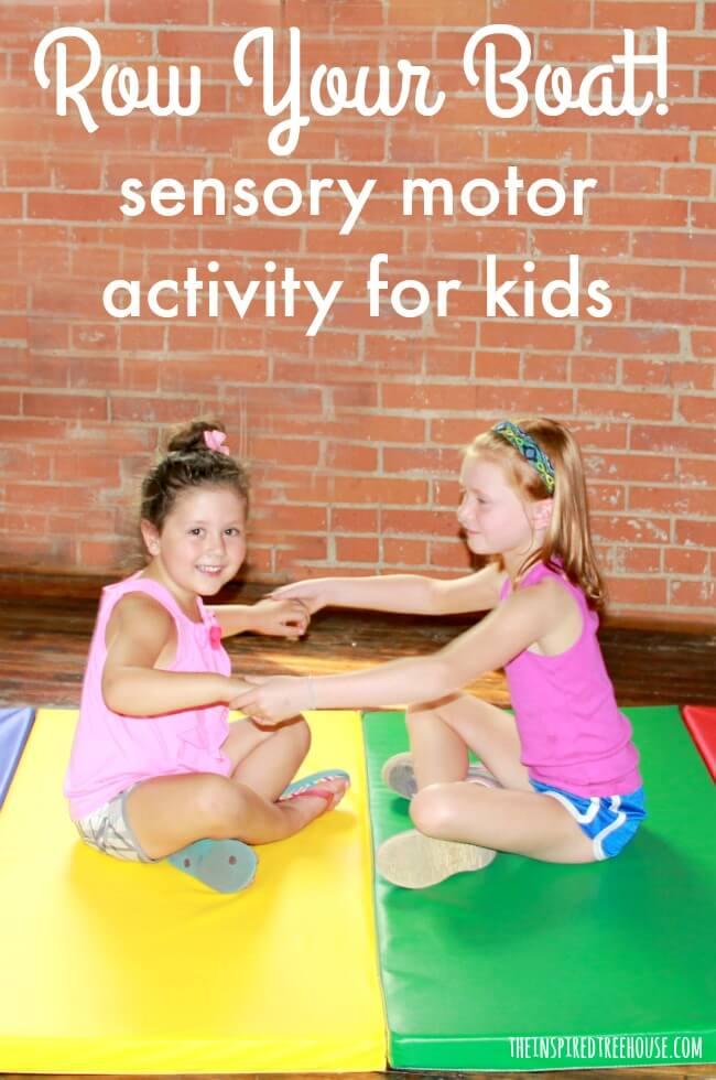 Fun Sensory Activities Row Row Row Your Boat