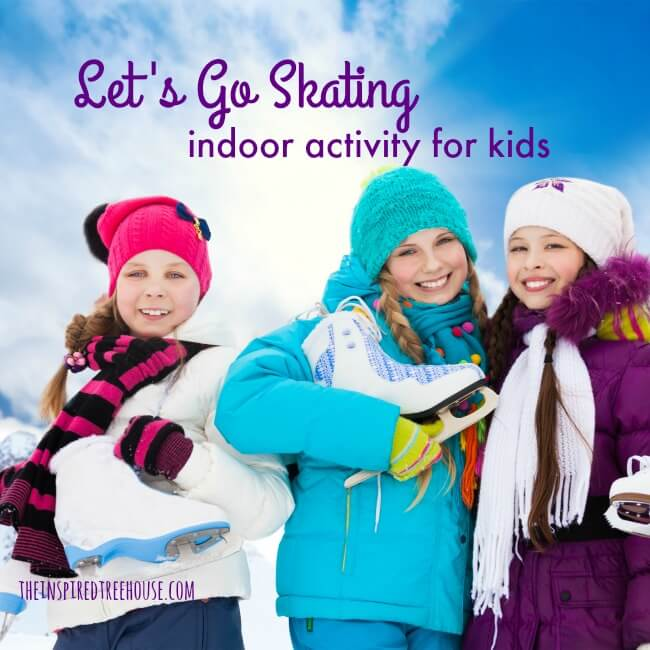 The Inspired Treehouse - Looking for fun indoor winter activities for your kids?  Check out this fun way to get kids moving!