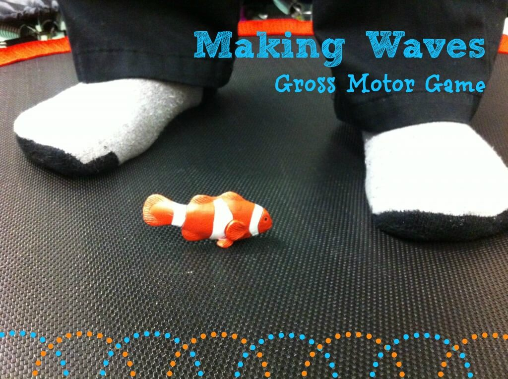 Making Waves A Game Using Trampoline For Proprioception Skills