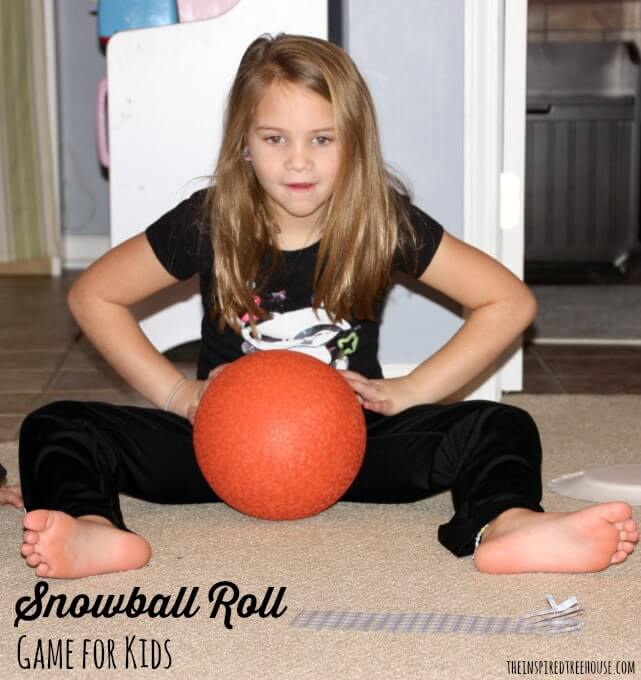 snowball roll game for kids 2