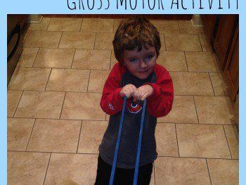 GROSS MOTOR ACTIVITIES FOR KIDS: INDOOR CROSS COUNTRY SKIING