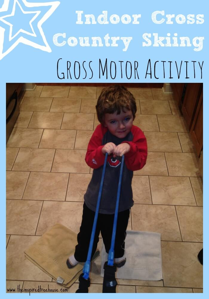 Indoor gross motor activities for kids cross country skiing for Indoor gross motor activities