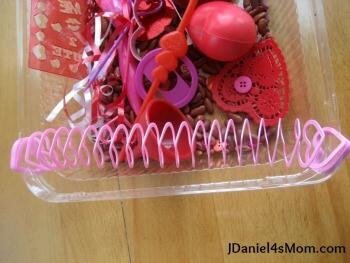 JDaniel4sMom valentines sensory bin