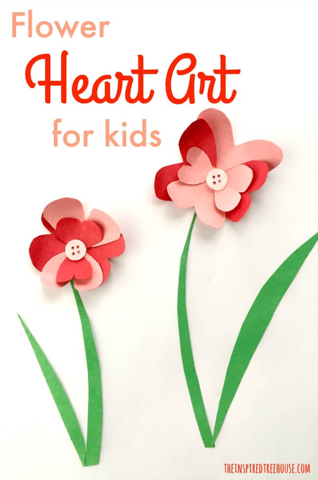 The Inspired Treehouse - We're full of creative ideas for Valentine's Day crafts for kids!  Here's another one of our favorites...