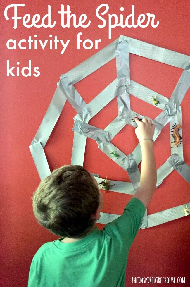 The Inspired Treehouse - This is one of our favorite fine motor games for kids! A little messy, a little sticky, and a lot of fun!