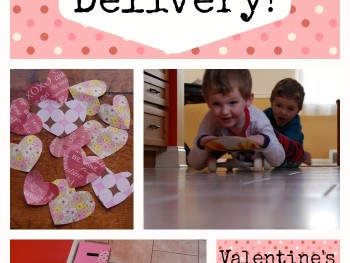 EDUCATIONAL GAMES: SPECIAL DELIVERY GROSS MOTOR ACTIVITY