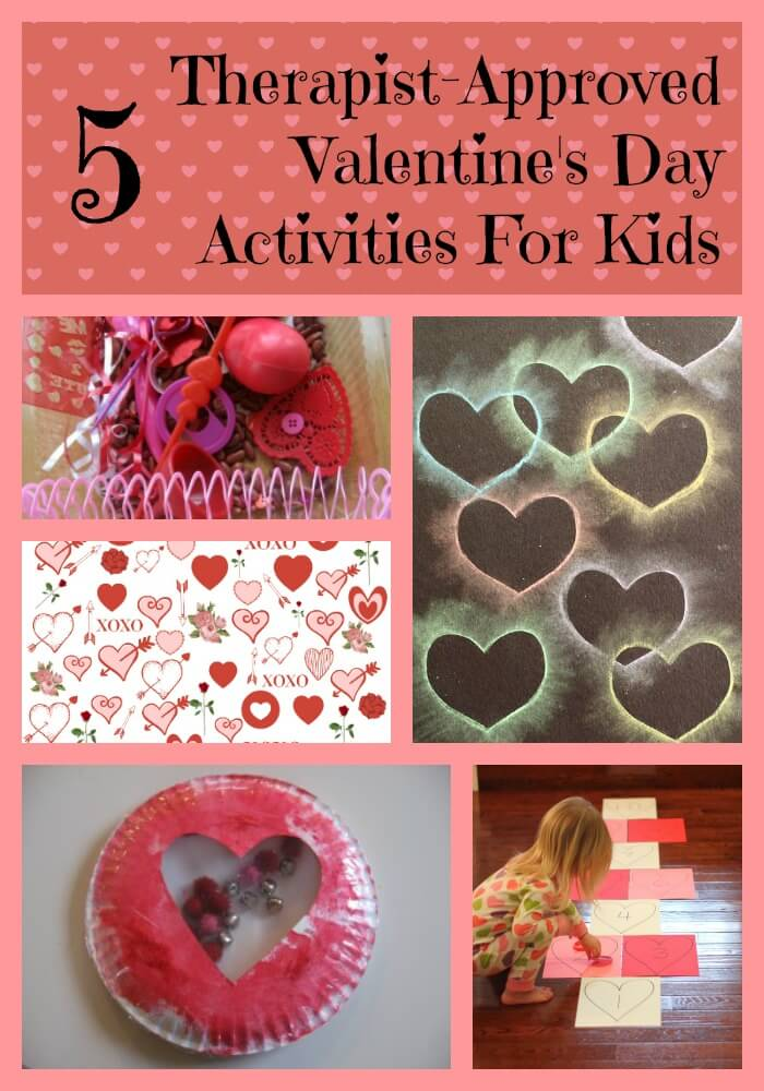 kids valentines activities