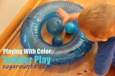Sugar Aunts Toddler Play