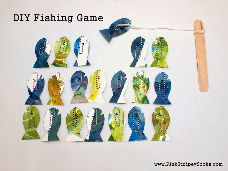 1 Easy DIY Fishing Game