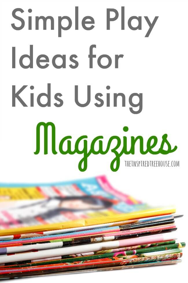 The Inspired Treehouse - These fun activities using magazines are the perfect simple additions to your therapy practice, classroom, or home!