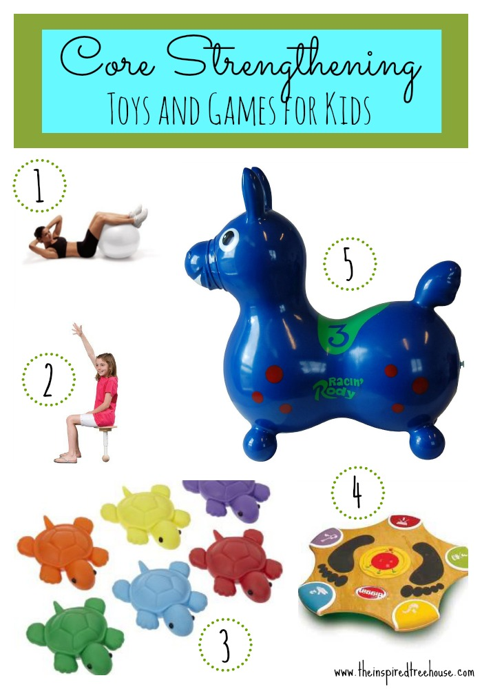 Core Strengthening Toys And Games For Kids