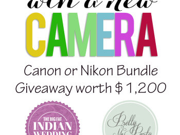 GIVEAWAY: CANON OR NIKON CAMERA BUNDLE