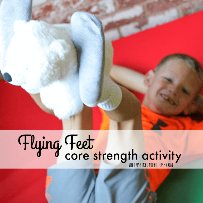 The Inspired Treehouse - We love diving headfirst into movement activities for kids that use the whole body!  Check out this fun way to play with your feet!