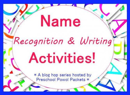 name recognition and writing activities