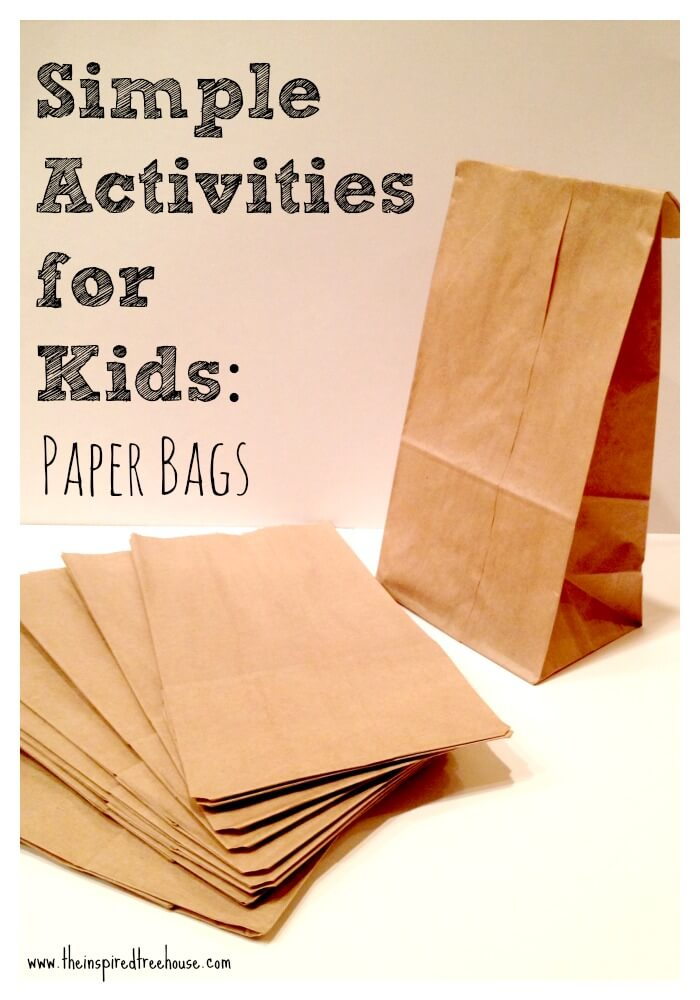 Fun Activities With Paper Bags For Kids