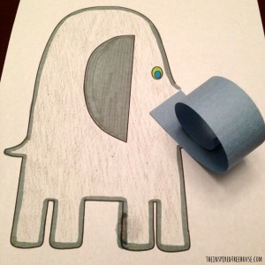 printable activities for kids elephant