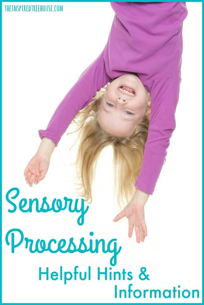 sensory processing resource page pin