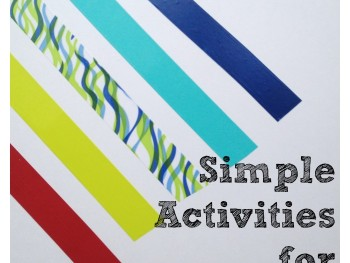 SIMPLE ACTIVITIES FOR KIDS: TAPE