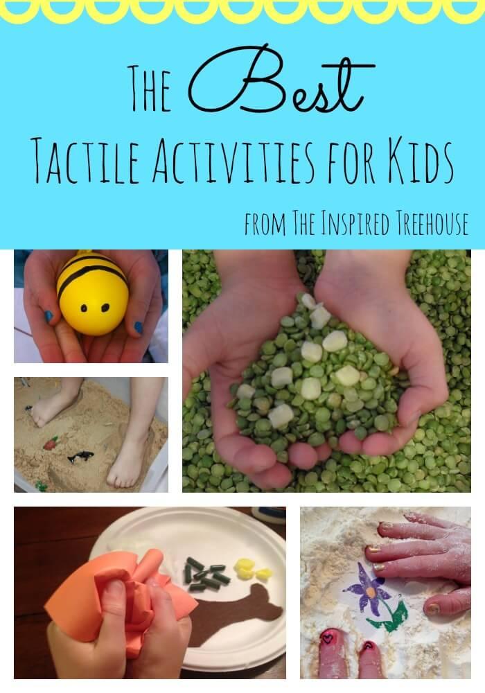 tactile sensory activities