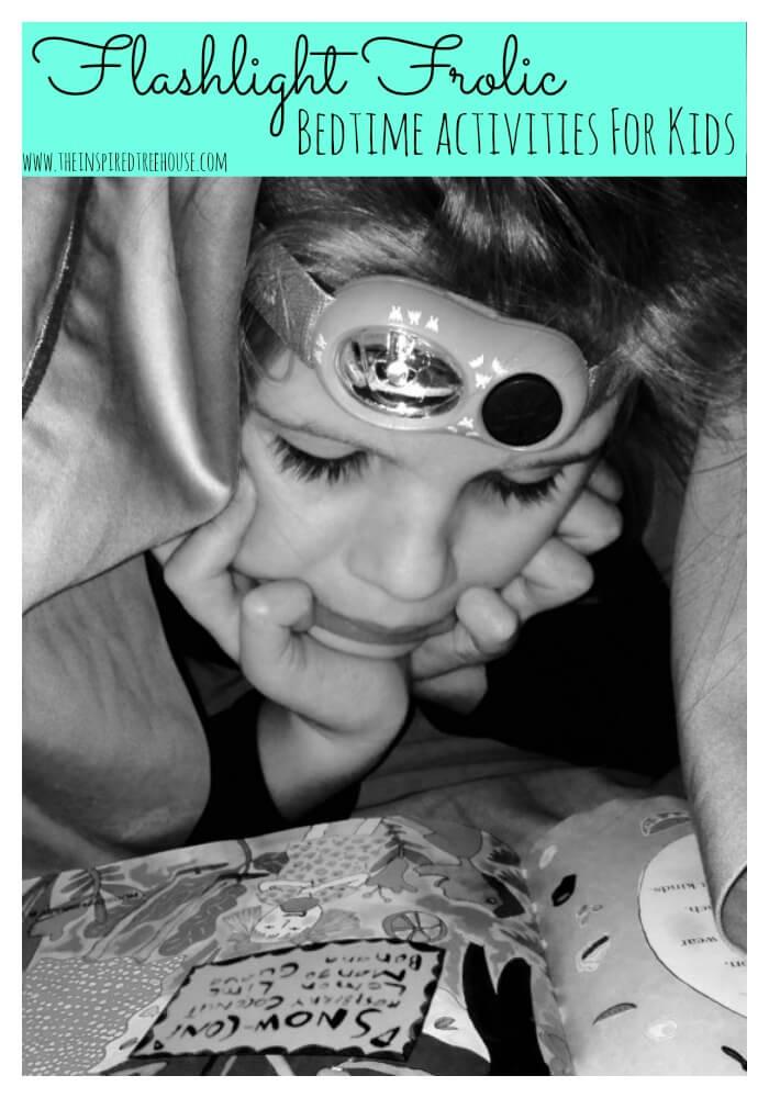 bedtime activities for kids