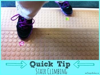 CHILD DEVELOPMENT QUICK TIP: STAIR CLIMBING