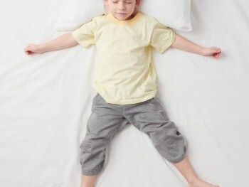 trouble sleeping tips for kids sensory