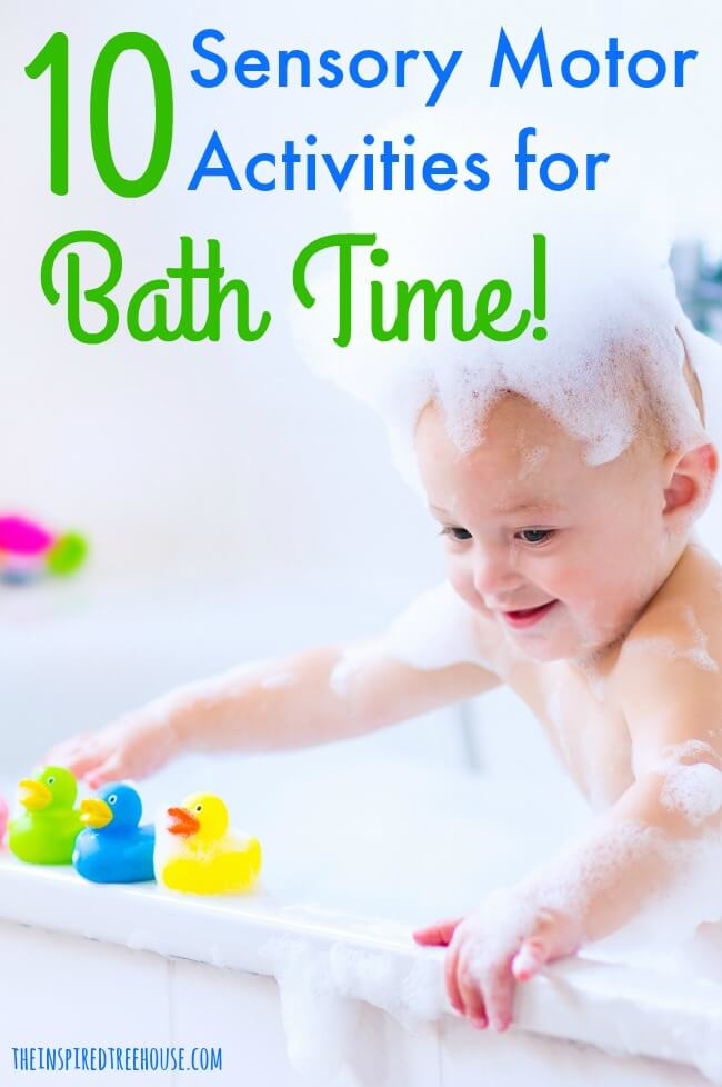 10 FUN BATH TIME SENSORY ACTIVITIES